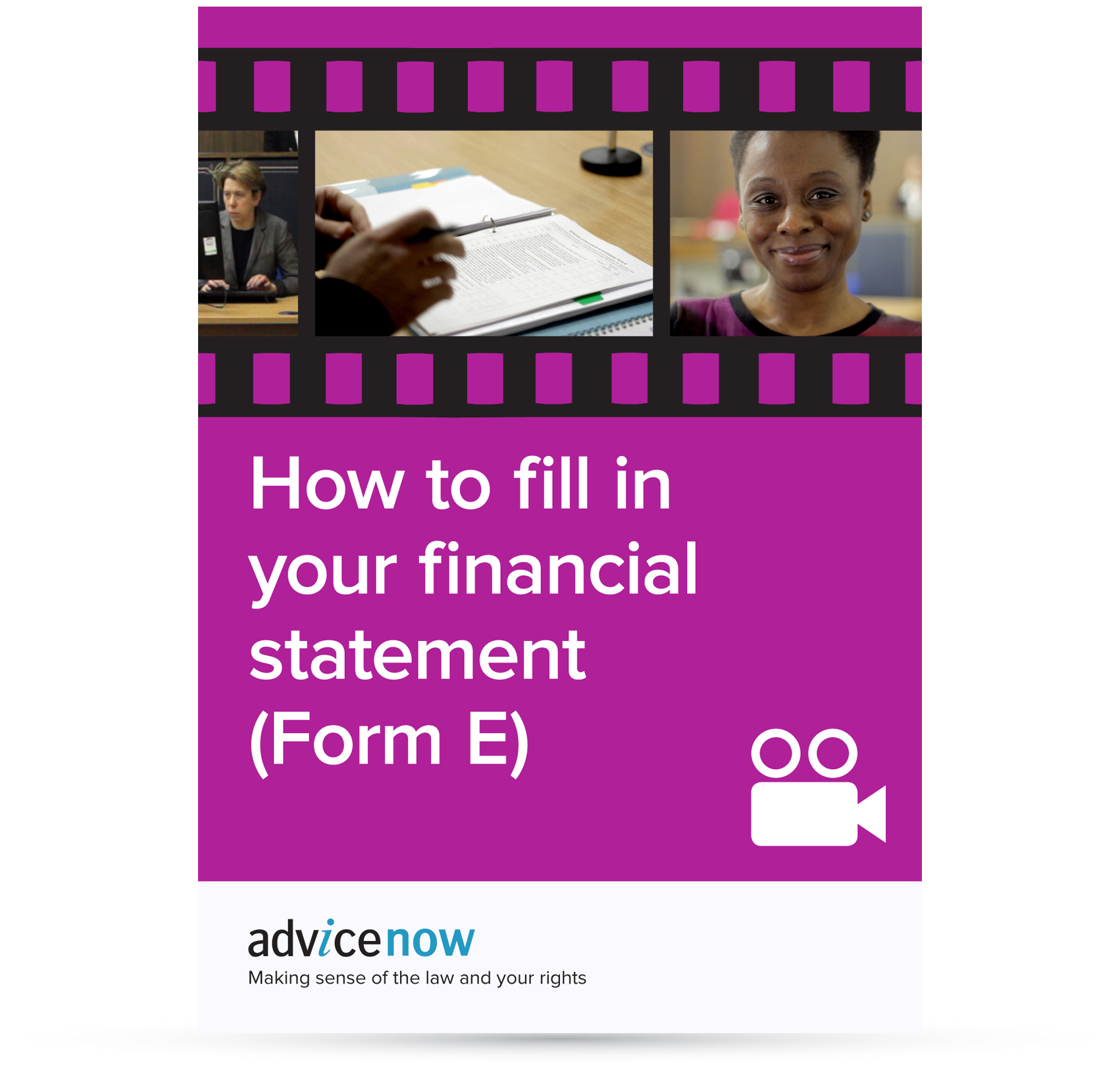 how to fill in your financial statement form e film advicenow