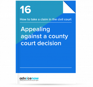 Appealing against a county court decision thumbnail