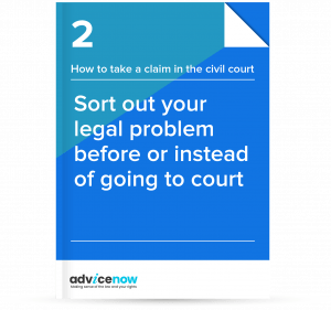 How to sort out a dispute before or instead of going to court thumbnail