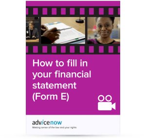 How to fill in your financial statement