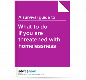What to do if you are threatened with homelessness