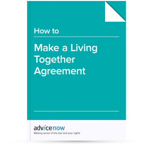 How to make a Living Together Agreement