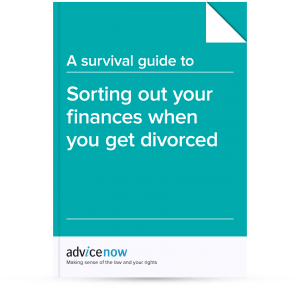 Sorting out your finances when you get divorced