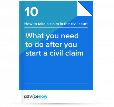 What you need to do after you start a civil claim thumbnail