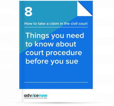 Things you need to know about court procedure before you sue