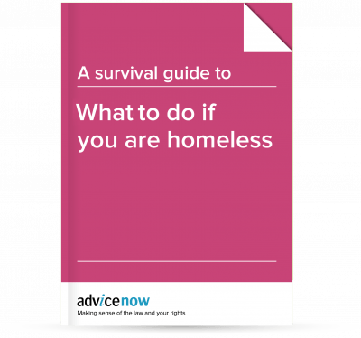 What to do if you are homeless