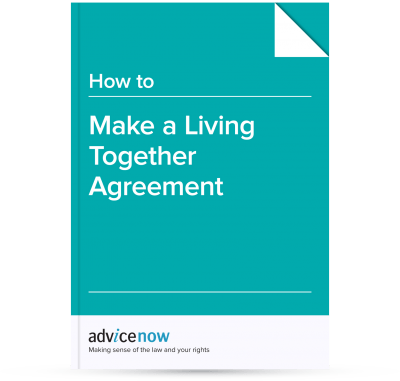 How To Make A Living Together Agreement Advicenow