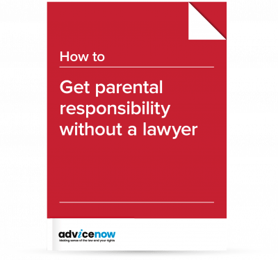 How to apply for parental responsibility without the help of a lawyer