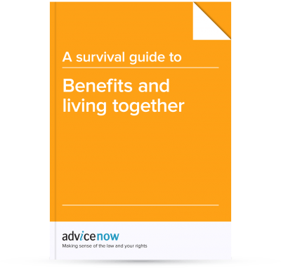 Picture of our downloadable survival guide to Benefits and Living Together
