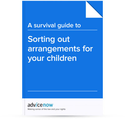 Sorting out arrangements for your children