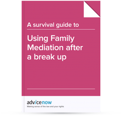 Using Family Mediation after a break up