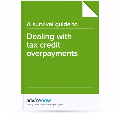 A survival guide to dealing with tax credit overpayments advicenow image of a survival guide to dealing with tax credit overpayments spiritdancerdesigns Gallery