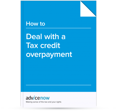 How to deal with a Tax credit overpayment
