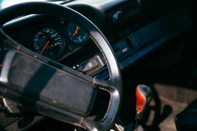 Car steering wheel and dashboard