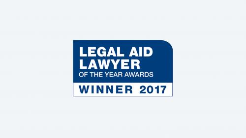 Legal Aid Lawyer of the Year Award winner's logo
