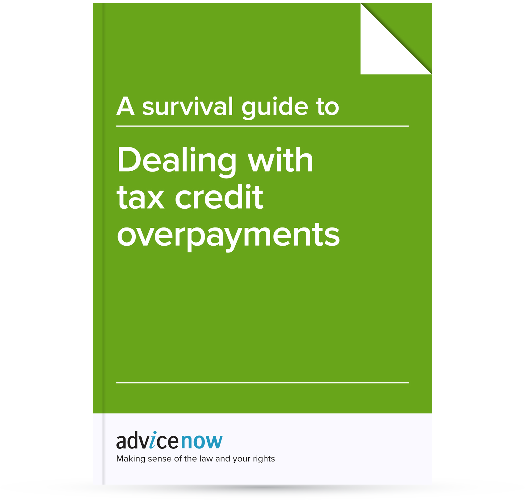 A survival guide to dealing with tax credit overpayments advicenow spiritdancerdesigns Images