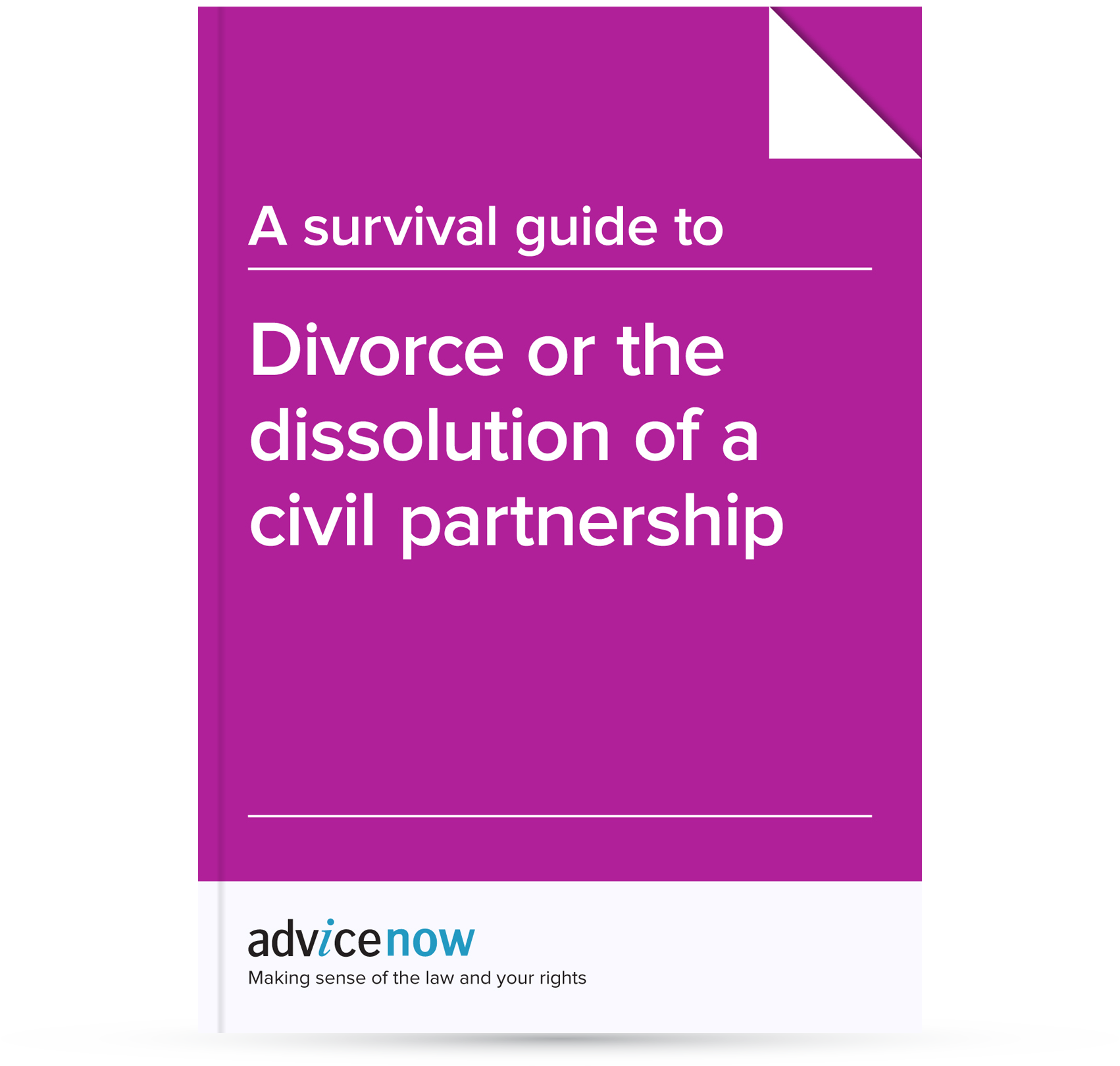 A survival guide to divorce or dissolution of a civil partnership a survival guide to divorce or dissolution of a civil partnership advicenow solutioingenieria